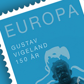 Promoted Norwegian Stamp