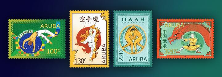 Bestselling Aruba Stamps