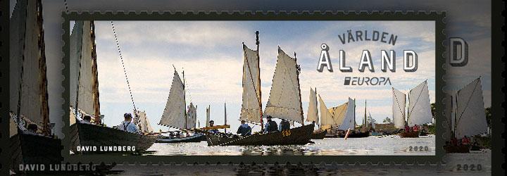 畅销 奥兰群岛 邮票