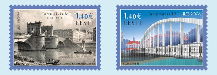 Los sellos más vendidos de Estonia