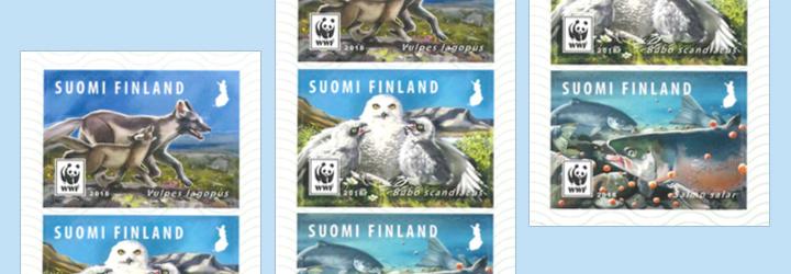 畅销 芬兰 邮票