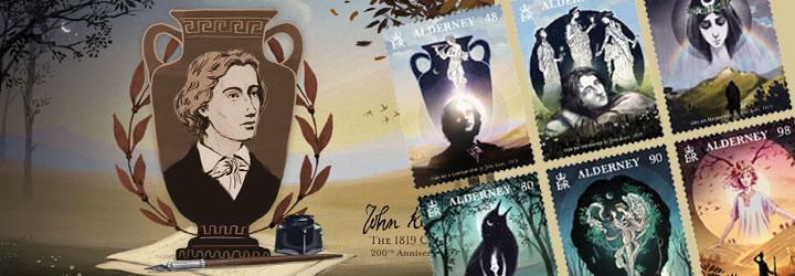 畅销 奥尔德尼岛 邮票