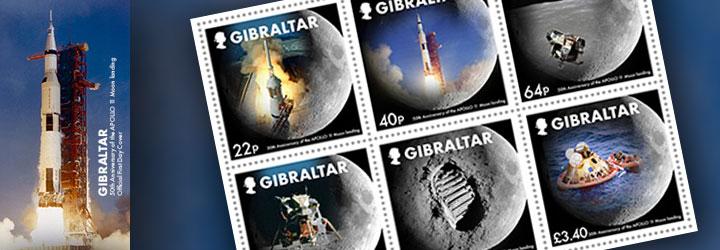 Los sellos más vendidos de Gibraltar