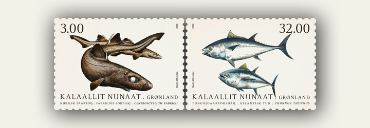 Meilleures ventes Groenland timbres