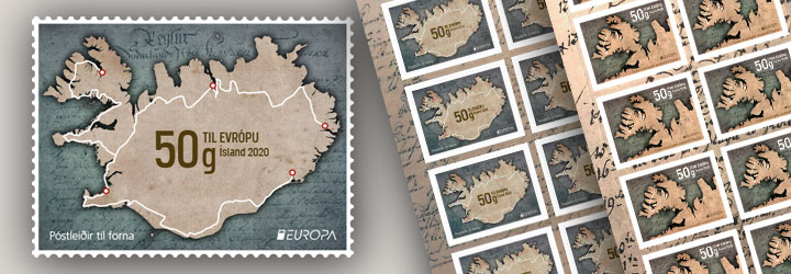 Bestselling Iceland Stamps