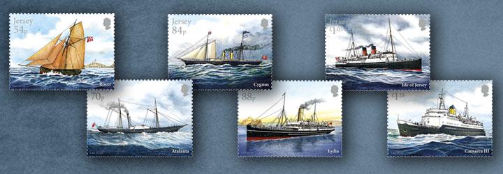 畅销 泽西岛 邮票