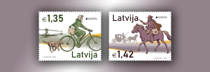 Los sellos más vendidos de Letonia