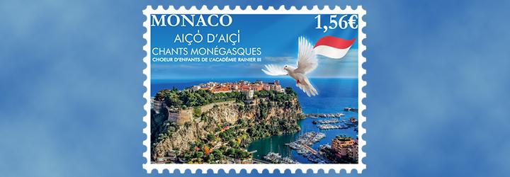 Los sellos más vendidos de Mónaco