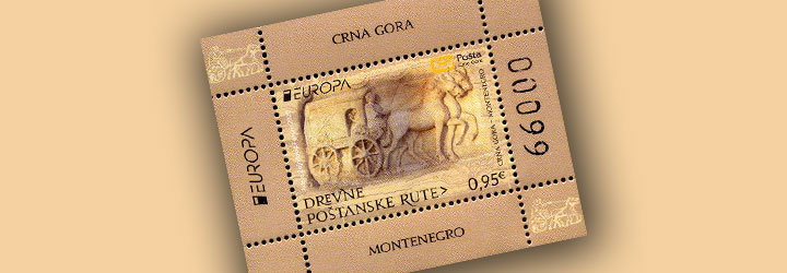 Los sellos más vendidos de Montenegro