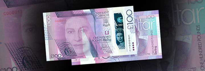 2017 £100 Banknote
