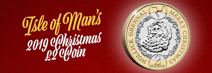 2019 Father Christmas &pound2 Coin