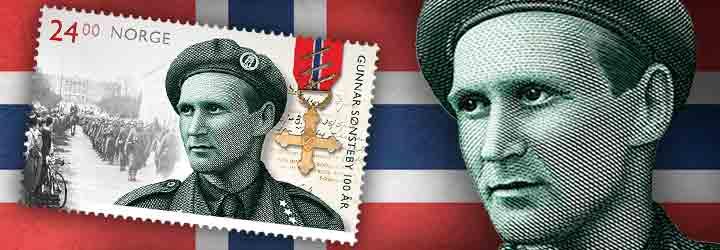 Gunnar Sonsteby - Resistance Movement Fighter Centenary - Set