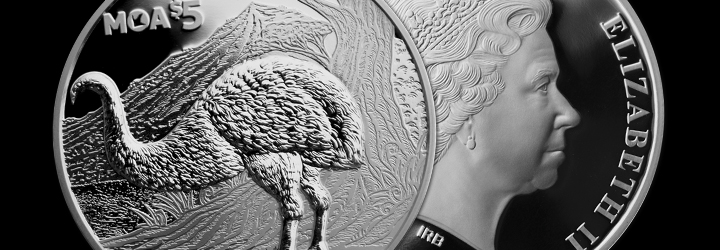 2018 New Zealand Annual Coin: Moa Silver Proof Coin