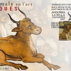 Animals in art - Bulls - Altarpiece of Sant Miquel de Prats