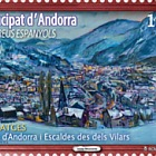 Josep Moscardó - View of Andorra and Escaldes from Vilars