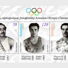 2009 Armenian Olympic Champions - H. Shahinyan, I. Novikov & A. Azaryan