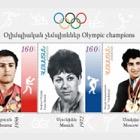 Campeones Olímpicos - V. Yengibaryan, F. Melnik y Y. Vardanyan
