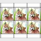 Flora and Fauna- Lynx Lynx Dinniki (Sheetlet)