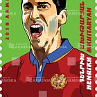 Deporte, Futbolistas Famosos de Armenia - Henrikh Mkhitaryan