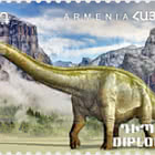 Flora and Fauna of the Ancient World - Diplodocus