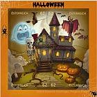 Comic Stamps Jigsaw - Halloween