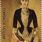 Anton Romako -portrait of Isabella Reisser