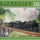 Special Stamp - Steam on the Semmering
