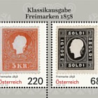Postage Stamps from 1858