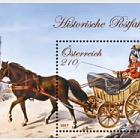 Rural Postal Vehicle Drawn by a Single Horse