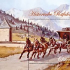 Four Horse Drawn Passenger Coach on the Tauern Mountain Road