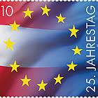 25 ° Anniversario Dell'Austria Che Si Unisce all'UE