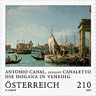 Antonio Canal a. k. a. Canaletto – The Dogana at Venice