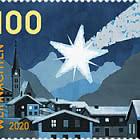 Christmas – Christmas Star - Strip of 10 Stamps