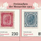 Timbres-poste 1905