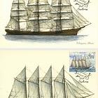 帆船 - 阿尔巴尼亚和地图集
