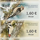 2019 Franking Labels - Woodpeckers