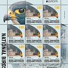 Europa 2019 - National Birds - Peregrine Falcon