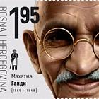 150 Jahre Seit der Geburt von Mahatma Gandhi