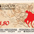 Europa 2020 - Ancient Postal Routes -  The Tatar