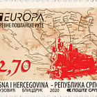 Europa 2020 - Ancient Postal Routes - Train