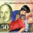 William Shakespeare's 450th Birth Anniversary