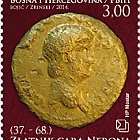 Numismatic 2014- Golden Coin of Emperor Nero
