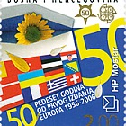 50 Years of the first Issue of Europa 2006 - (Flag Stamp)