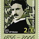 2006 Nikola Tesla - 150th Birth Anniversary