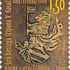 2009 Archaeological Treasure - Emblem of Herzeg Stipan Vukcic Kosaca