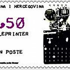 2003 World Post Day - Teleprinter