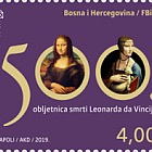 500th Anniversary of Leonardo da Vinci's Death - Mona Lisa Stamp