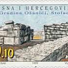 1999 The Archaeological Site Osanici Near Stolac