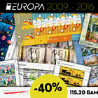 40% OFF Europa sheet sets from years 2009 – 2016!