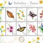 Butterflies & Flowers (Saba)
